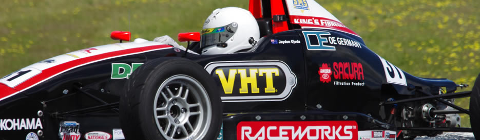ojeda winton lap record national formula ford