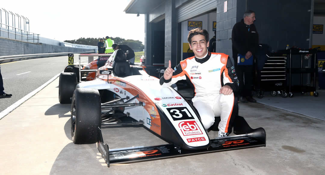 f4 first pole position